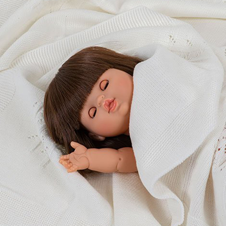 Minikane® Doll with sleeping eyes Chloé 34cm