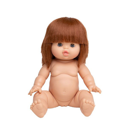Picture of Minikane® Doll with sleeping eyes Capucine 34cm