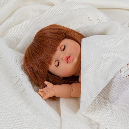 Minikane® Doll with sleeping eyes Capucine 34cm