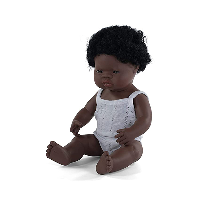 Picture of Miniland® Baby doll African Boy 38cm