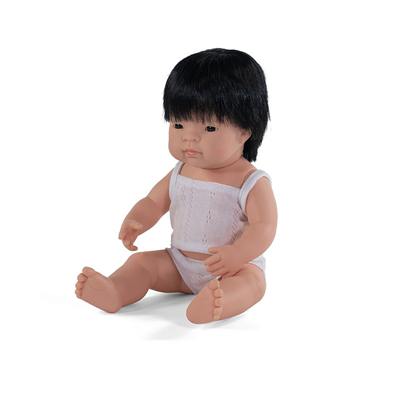 Picture of Miniland® Baby doll Asian Boy 38cm