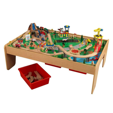 Picture of KidKratft® KidKraft Waterfall Mountain Train Table Set