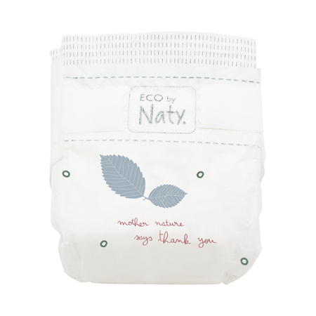 Picture of Eco by Naty® Baby Diapers Size 0 Newborn (1-4,5 kg) 25 pcs.