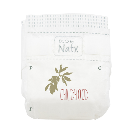 Picture of Eco by Naty® Baby Diapers Size 4+ (9-20 kg) 24 pcs.