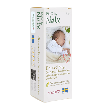 Eco by Naty® Disposal Bags 50 pcs.