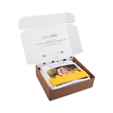 Eco by Naty® Trial Box 3 (4-9 kg) 10 pcs.