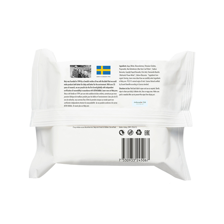 Picture of Eco by Naty® Wet Wipes Travel Pack 20 pcs.