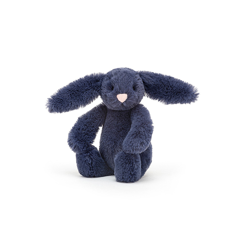 Picture of Jellycat® Soft Toy Bashful Navy Bunny Baby 13cm