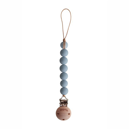 Picture of Mushie® Pacifier Clips Halo Cloud