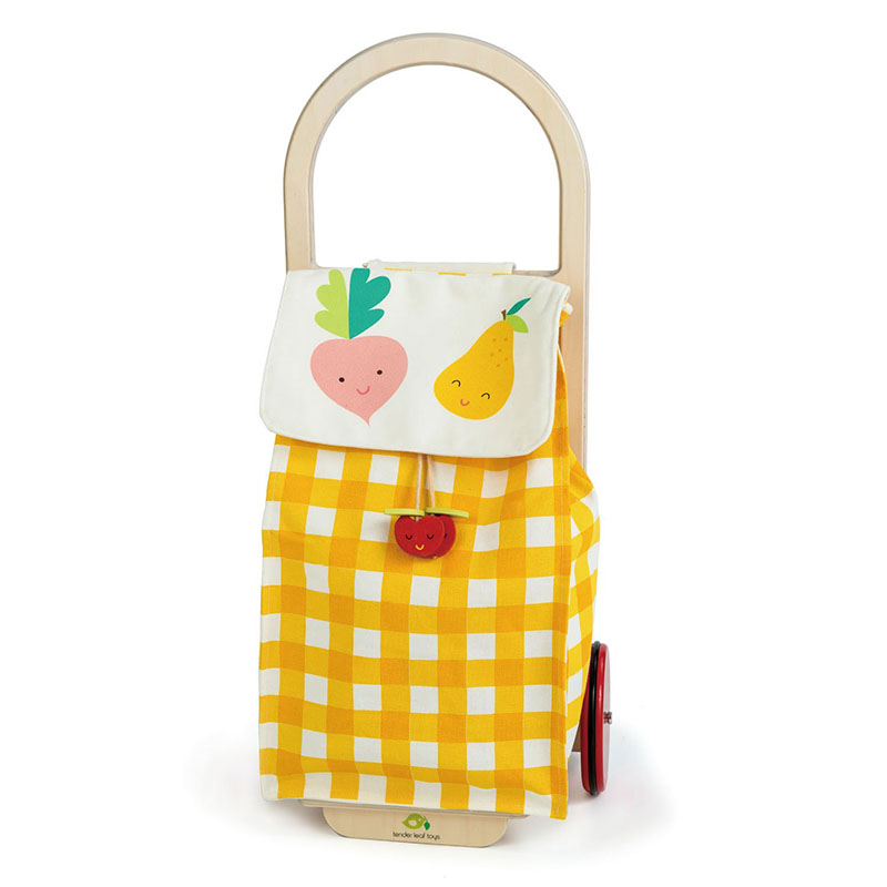 Picture of Tender Leaf Toys® Pull Along Shopping Trolley