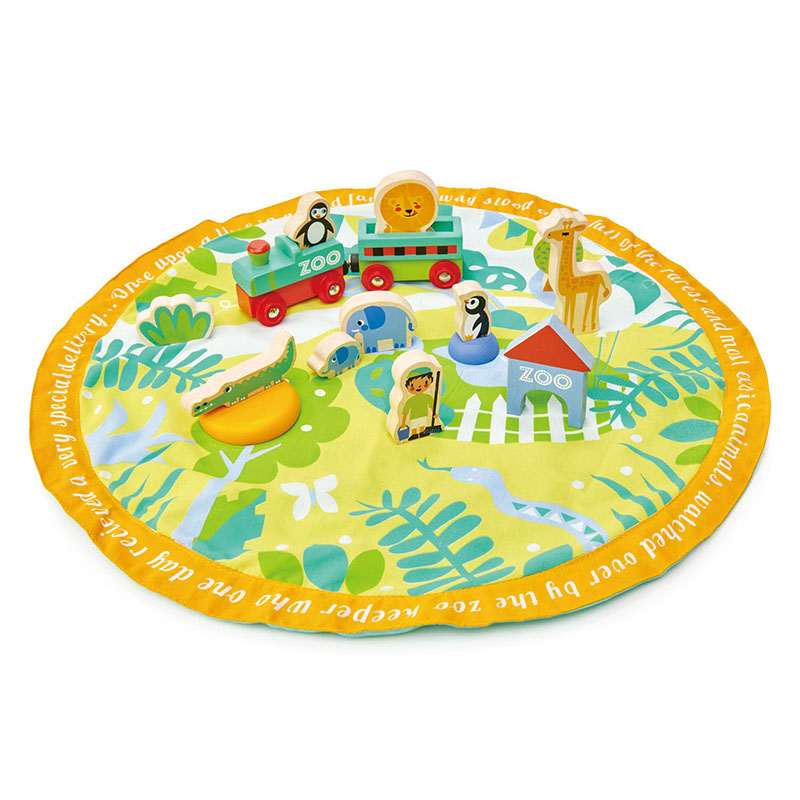 Picture of Tender Leaf Toys® Safari Park Story Bag