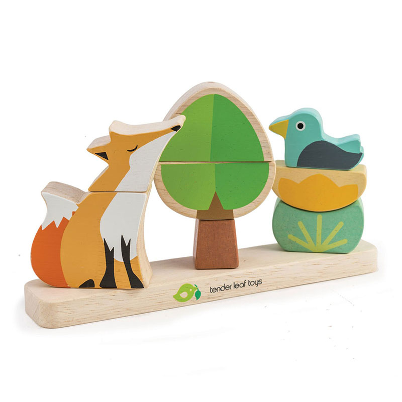 Picture of Tender Leaf Toys® Foxy Magnetic Stacker