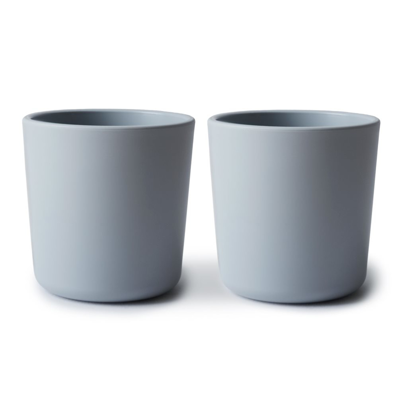 Picture of Mushie® Dinnerware Cup Set of 2 - Cloud