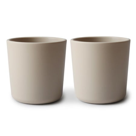 Picture of Mushie® Dinnerware Cup Set of 2 - Vanilla