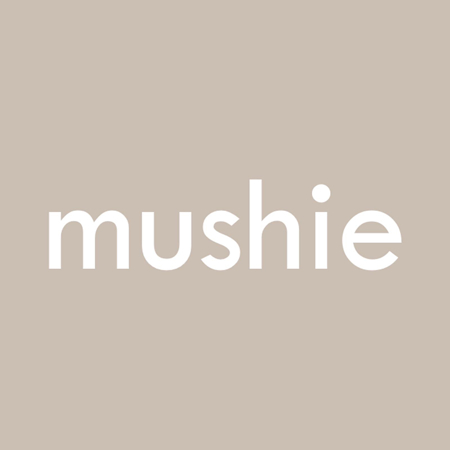 Picture of Mushie® Silicone Feeding Spoons Blush/Shifting Sand 2-Pack