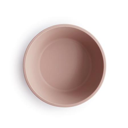 Mushie® Silicone Suction Bowl Blush