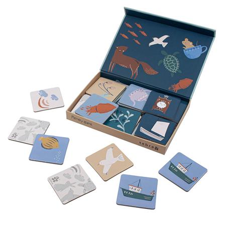 Picture of Sebra® Memory game in a box Seven Seas/Daydream