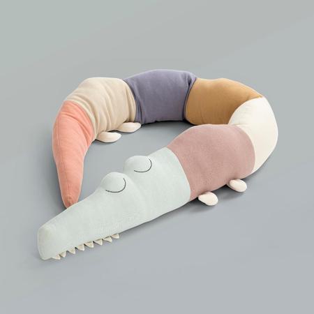 Picture of Sebra® Knitted cushion Sleepy Croc Daydream