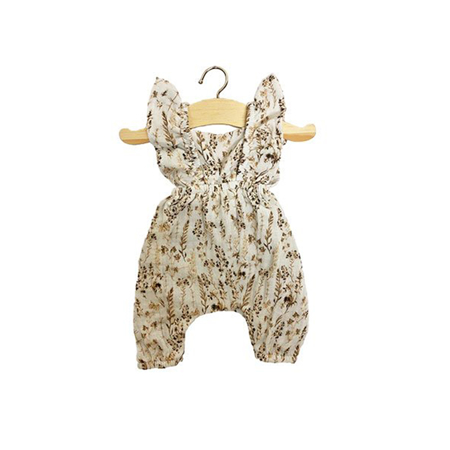 Picture of Minikane® Maya double gauze cotton Jumpsuit Flowers Print 34cm