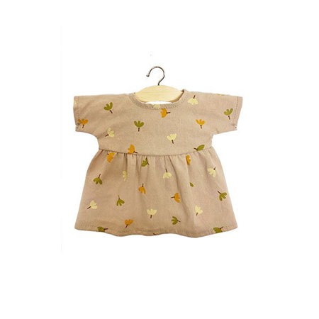 Picture of Minikane® Faustine dress in organic cotton Nordic Flowers 34cm