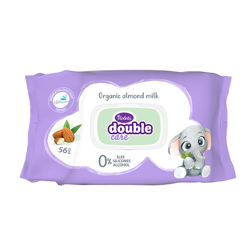 Picture of Violeta® Baby Wipes With Almond Milk 56/1