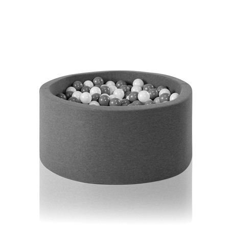 Picture of Misioo® Ball Pit With 200 Balls Grey Basic Smart