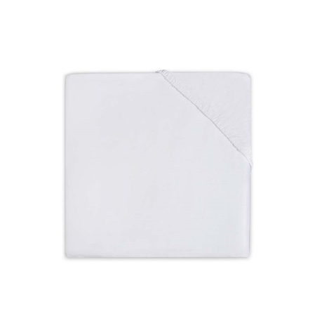 Picture of Jollein® Fitted Sheet Jersey White 120x60