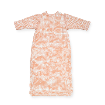 Picture of Jollein® Baby leeping ag with removable sleeves 90cm Snake Pale Pink TOG 2.0