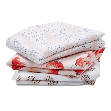 Picture of Aden+Anais® Muslin Squares 3-Pack Picked for You 70x70