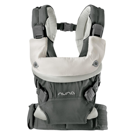 Nuna® Baby Carrier Cudl™ Front and Back Granite