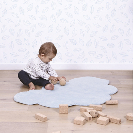 Picture of Lilipinso® Baby carpet Cloud Baby Blue 100x64