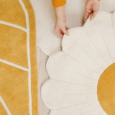 Picture of Lilipinso® Baby carpet Autumn Leaf 100x98