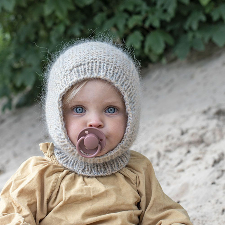Bibs® Baby Pacifier De Lux Silicone Sage & Hunter Green (0-36m)
