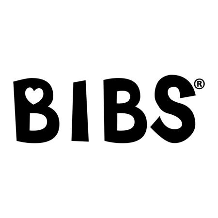 Picture of Bibs® Baby Pacifier De Lux Silicone Vanilla & Dark Oak (0-36m)