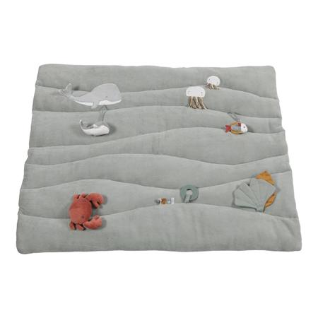 Picture of Little Dutch® Playpen mat Ocean Mint