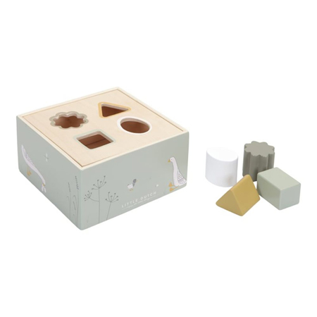 Picture of Little Dutch® Wooden Activity Cube Little Goose