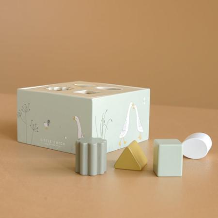 Picture of Little Dutch® Wooden Activity Cube Little Goose