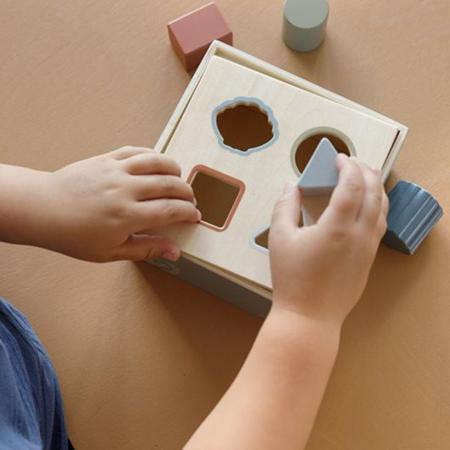 Little Dutch® Wooden Activity Cube Ocean