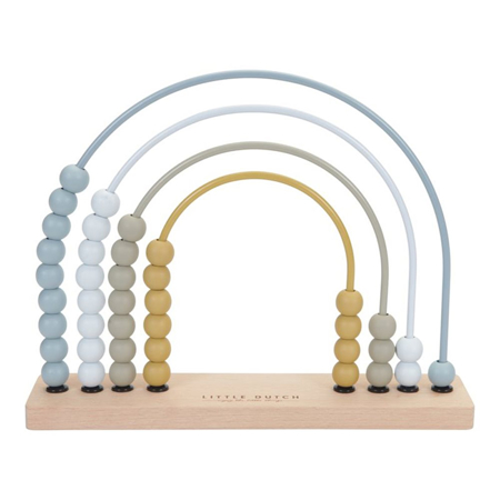 Picture of Little Dutch® Rainbow Abacus Blue