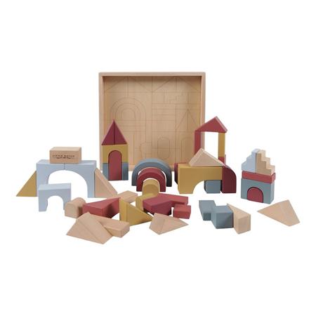 Little Dutch® Wooden building blocks Pure & Nature