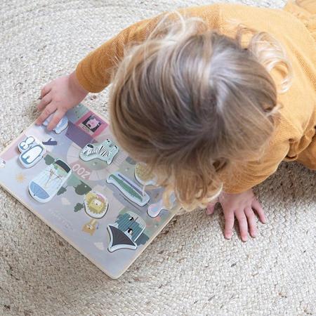 Picture of Little Dutch® Shape puzzle Zoo