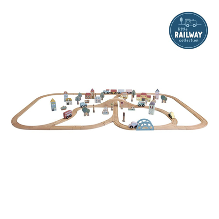 Picture of Little Dutch® Railway Train XXL Set - Starterkit