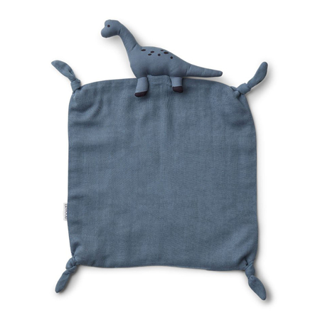 Picture of Liewood® Cuddle Cloth Agnete - Dino Blue Wave