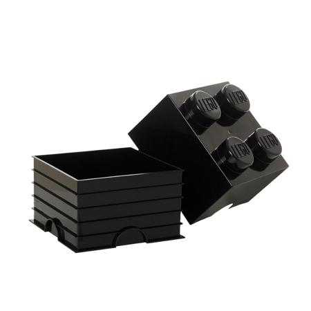 Picture of Lego® Storage Box 4 Black