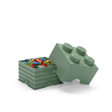 Picture of Lego® Storage Box 4 Sand Green