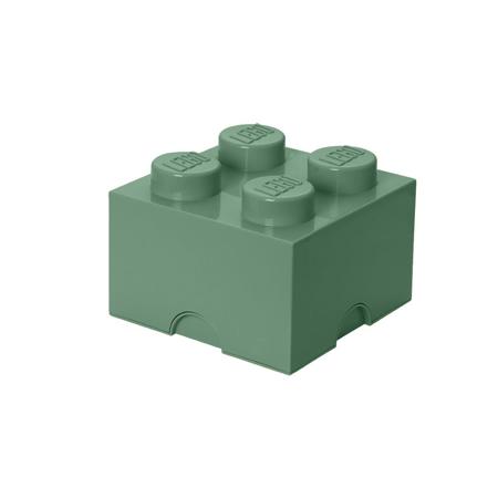 Lego® Storage Box 4 Sand Green
