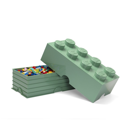 Picture of Lego® Storage Box 8 Sand Green