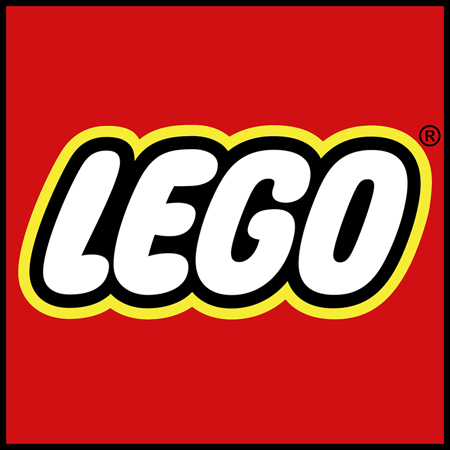 Picture of Lego® Book Rack White