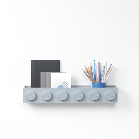 Picture of Lego® Book Rack Grey