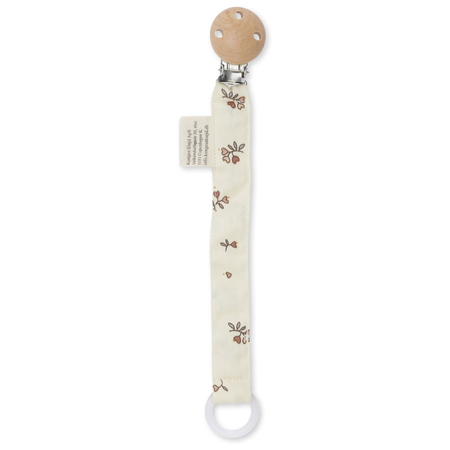 Picture of Konges Sløjd® Pacifier strap muslin Petit Amour Rose